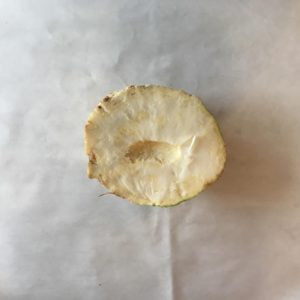 celeri rave moitié
